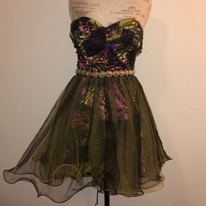 Colorful Party Dress